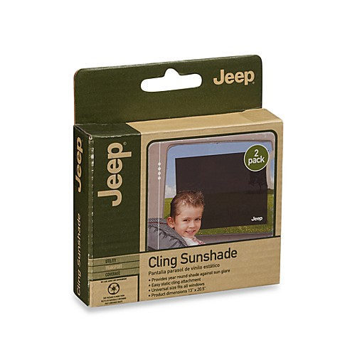 J is for Jeep® Baby Gear Cling Sunshade (2-Pack)