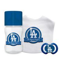 Baby Fanatic MLB Los Angeles Dodgers 3-Piece Feeding Gift Set