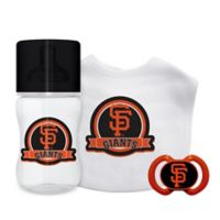 Baby Fanatic MLB San Francisco Giants 3-Piece Feeding Gift Set