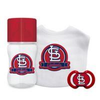 Baby Fanatic MLB St. Louis Cardinals 3-Piece Feeding Gift Set