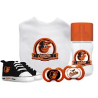 Baby Fanatic MLB Baltimore Orioles 5-Piece Gift Set