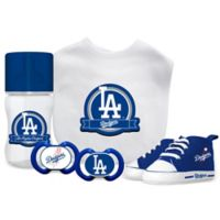 Baby Fanatic MLB Los Angeles Dodgers 5-Piece Gift Set