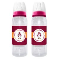 Baby Fanatic Virgina Tech 2-Piece Baby Bottle Gift Set