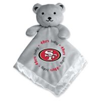 Baby Fanatic® NFL San Francisco 49ers Security Bear in Grey