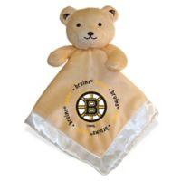 Baby Fanatic® NHL Boston Bruins Security Bear in Tan/Silver