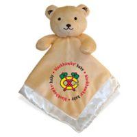 Baby Fanatic® NHL Chicago Blackhawks Security Bear in Tan/Silver