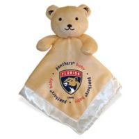 Baby Fanatic® NHL Florida Panthers Security Bear in Tan/Silver