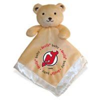 Baby Fanatic® NHL New Jersey Devils Security Bear in Tan/Silver