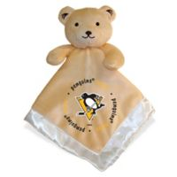 Baby Fanatic® NHL Pittsburgh Penguins Security Bear in Tan/Silver