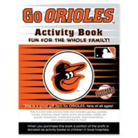 MLB Go Baltimore Orioles Activity Book