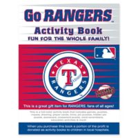 MLB Go Texas Rangers Activity Book