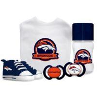 Baby Fanatic NFL Denver Broncos 5-Piece Gift Set