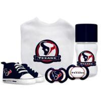 Baby Fanatic NFL Houston Texans 5-Piece Gift Set