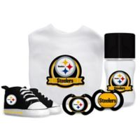 Baby Fanatic NFL Pittsburgh Steelers 5-Piece Gift Set