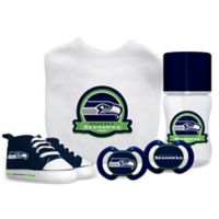Baby Fanatic NFL Seattle Seahawks 5-Piece Gift Set