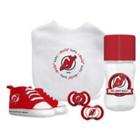 Baby Fanatic NHL New Jersey Devils 5-Piece Gift Set