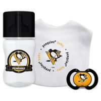 Baby Fanatic NHL Pittsburgh Penguins 3-Piece Feeding Gift Set