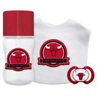 Baby Fanatic NBA Chicago Bulls 3-Piece Feeding Gift Set