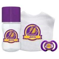 Baby Fanatic NBA Los Angeles Lakers 3-Piece Feeding Gift Set