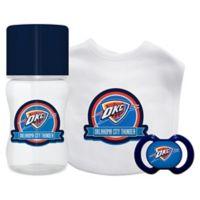 Baby Fanatic NBA Oklahoma Thunder 3-Piece Feeding Gift Set