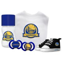Baby Fanatic NBA Golden State Warriors 5-Piece Gift Set