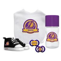 Baby Fanatic NBA Los Angeles Lakers 5-Piece Gift Set