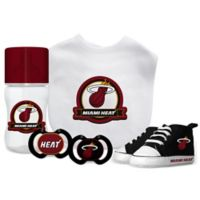 Baby Fanatic NBA Miami Heat 5-Piece Gift Set