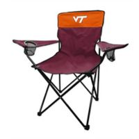 Virginia Tech Legacy Folding Chair in Maroon