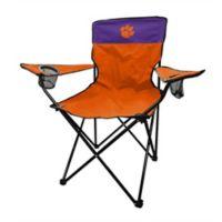 Clemson University Legacy Folding Chair in Orange