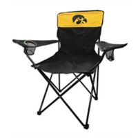 University of Iowa Legacy Folding Chair in Black