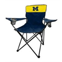 University of Michigan Legacy Folding Chair in Navy