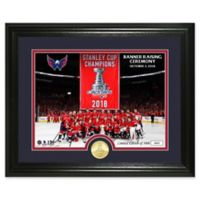 NHL Washington Capitals 2018 Stanley Cup Champions Banner Raising Photo Mint