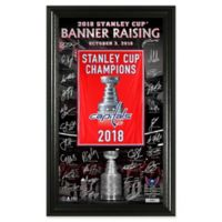 NHL Washington Capitals 2018 Stanley Cup Champions Banner Signature Photo