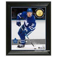 NHL Toronto Maple Leafs Auston Matthews Bronze Coin Photo Mint