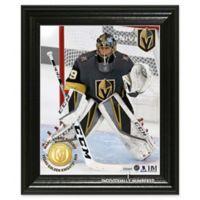 NHL Las Vegas Golden Knights Marc-Andre Fleury Bronze Coin Photo Mint