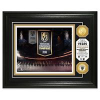NHL Vegas Golden Knights West Conference Champions Banner Raising Two Bronze Coin Photo Mint