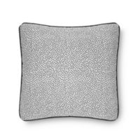 Laundry by SHELLI SEGAL® Berkeley 18-Inch Square Throw Pillow in Pewter