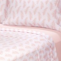 Rampage Solid and Printed Twin XL Sheet Set in Pink (Set of 2)