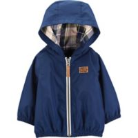 carter's® Size 6M Zip-Up Hooded Jacket in Blue