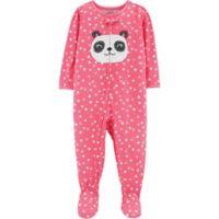 carter's® Size 24M Zip-Front Panda Footie in Pink