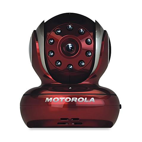 motorola blink1 r baby monitor with wi fi video camera in red bed bath beyond. Black Bedroom Furniture Sets. Home Design Ideas