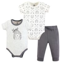 Yoga Sprout Size 18-24M 3-Piece Hedgehog Bodysuit & Pants Set