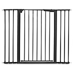 KidCo® Gateway Extra Tall and Wide Auto Close Pressure Mount Gate in Black