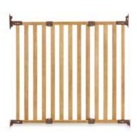 KidCo® Angle Mount Wood Safeway® Gate in Oak