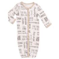 Baby Starters® Size 0-6M You Are My Star Convertible Gown in White