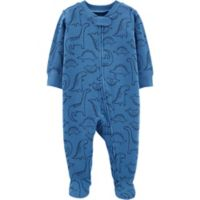 carter's® Newborn Dinosaur Sleep & Play in Blue