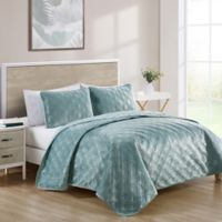 VCNY Home Diana Twin XL Quilt Set in Aqua