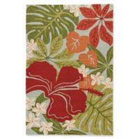 Jaipur Rugs Coastal Lagoon Luau 2-Foot x 3-Foot Outdoor Accent Rug in Green