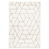 Jaipur Jada Titan 2-Foot x 3-Foot 11-Inch Indoor/Outdoor Rug in White