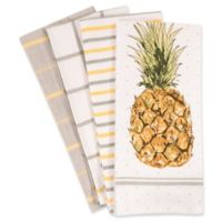 Pineapple Kitchen Towels (Set of 4)